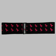 Pink cancer awareness resistance band