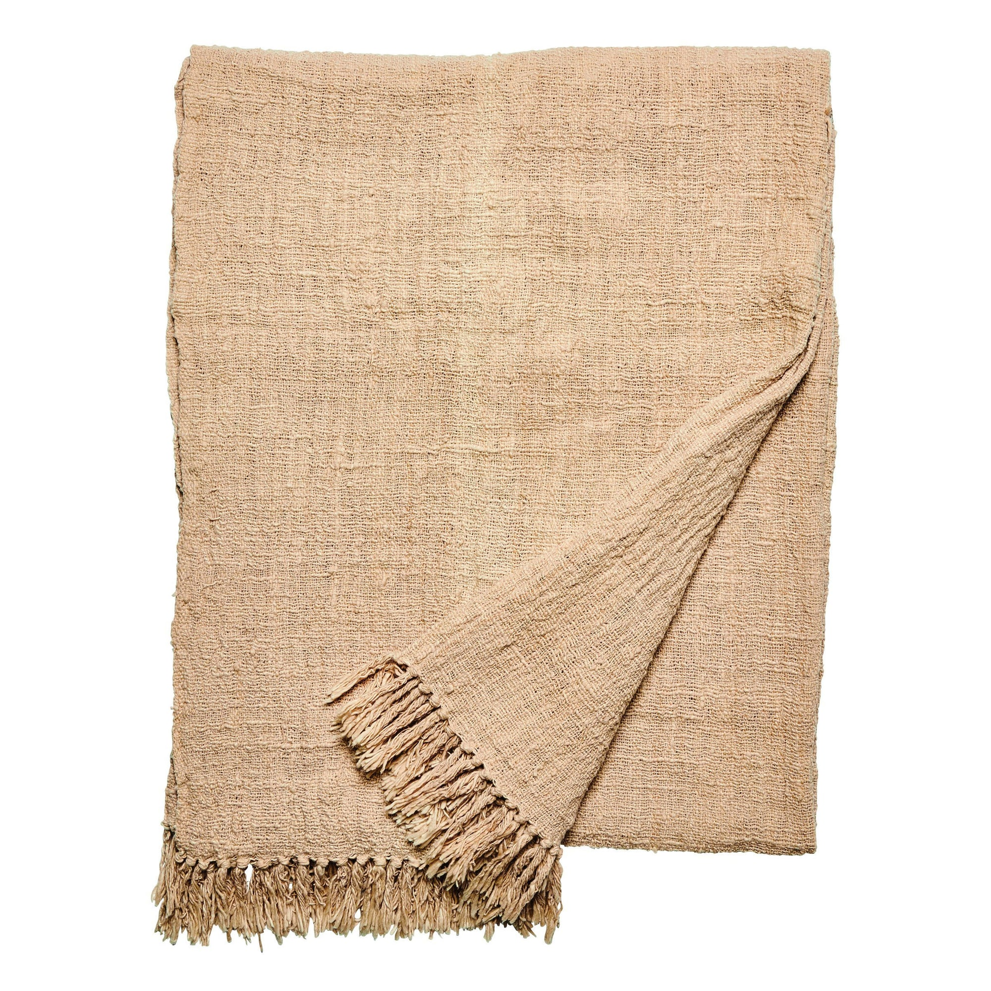 Plant dyed cotton throw (BSH1090)