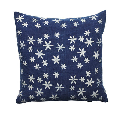 Batik stamp, plant dyed pillowcase (BSH1095)