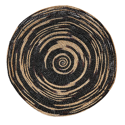 Round Woven Decorative Bowl - (BSH3007)