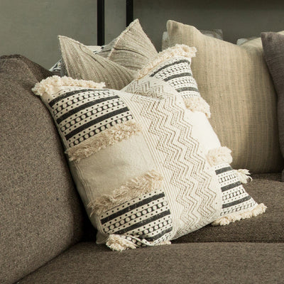 Dressed Block Pattern Pillow Cover (BSH4012)