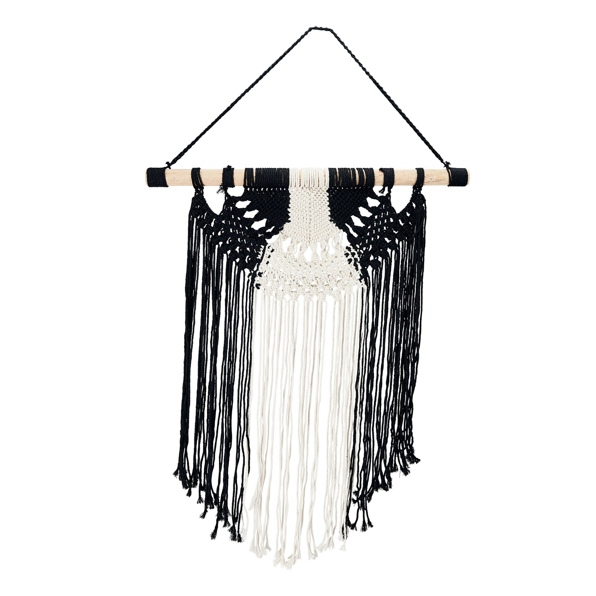 Macramé Wall Hanging with fringe - (BSH3023)