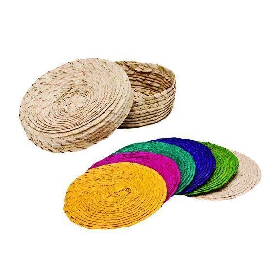 Home Multi Color Pack Of Coasters (BSH1000)