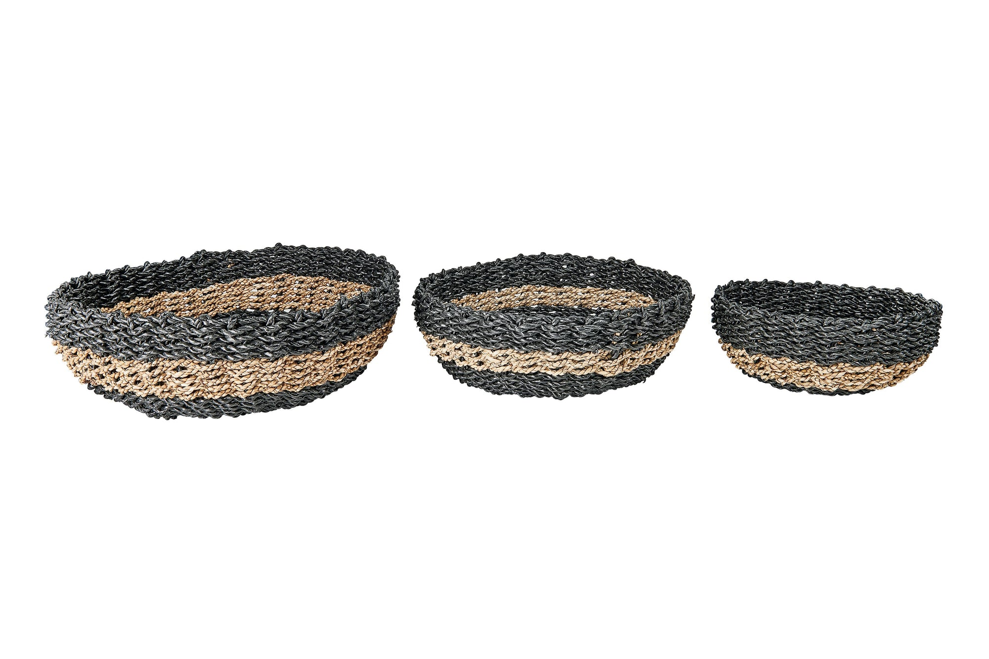 Round Woven Decorative Bowls - (BSH3004)