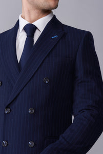 ARLO Navy Pinstripe Double Breasted Suit