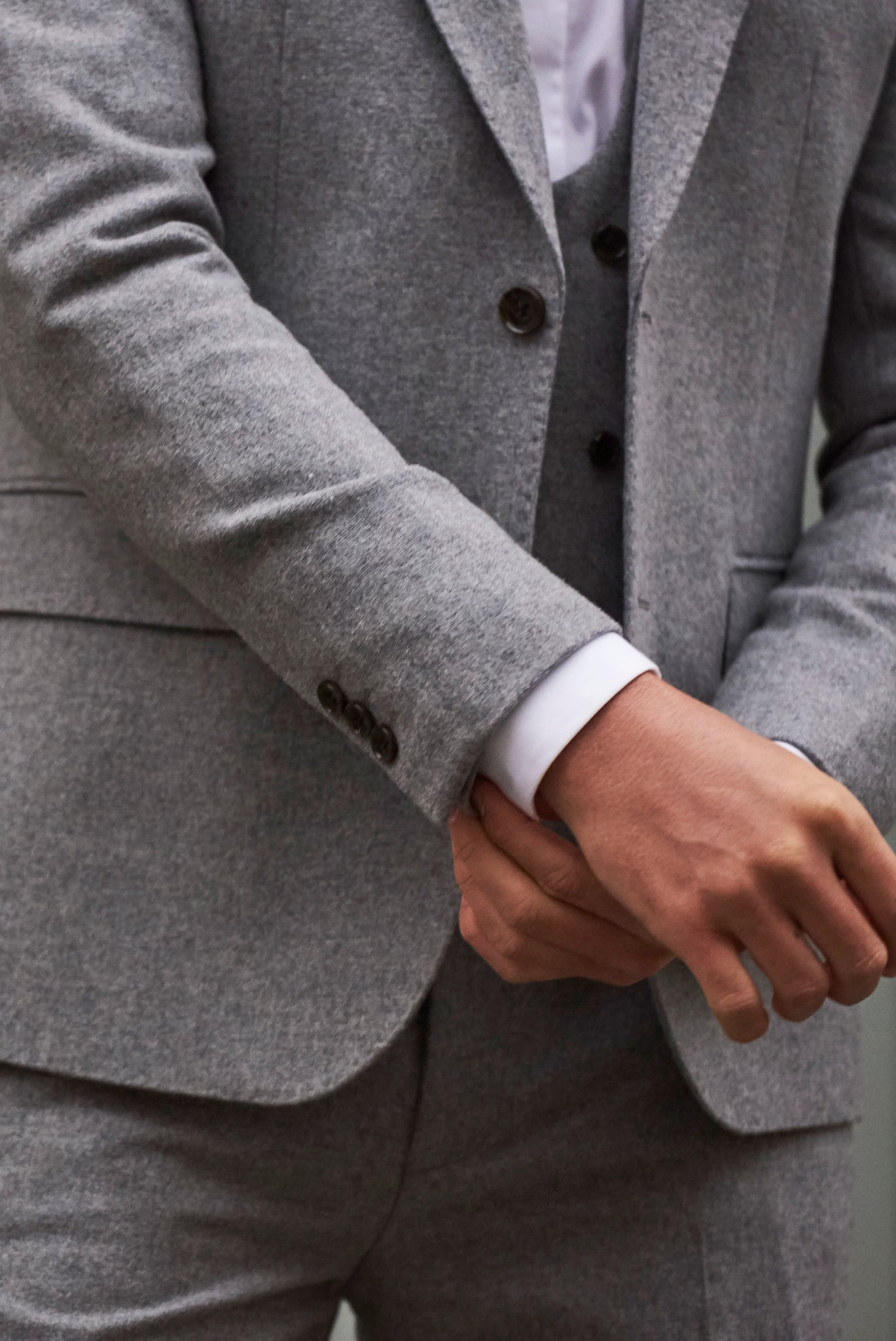 RALPH Grey Tweed Suit Jacket