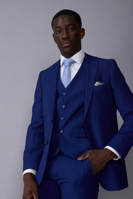 RORY Royal Blue Three Piece Suit