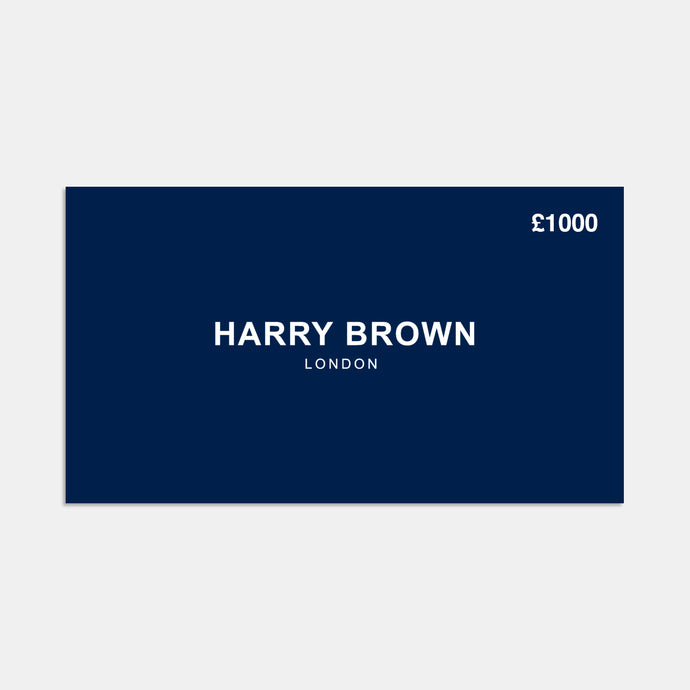 The Harry Brown £1000 Gift Card