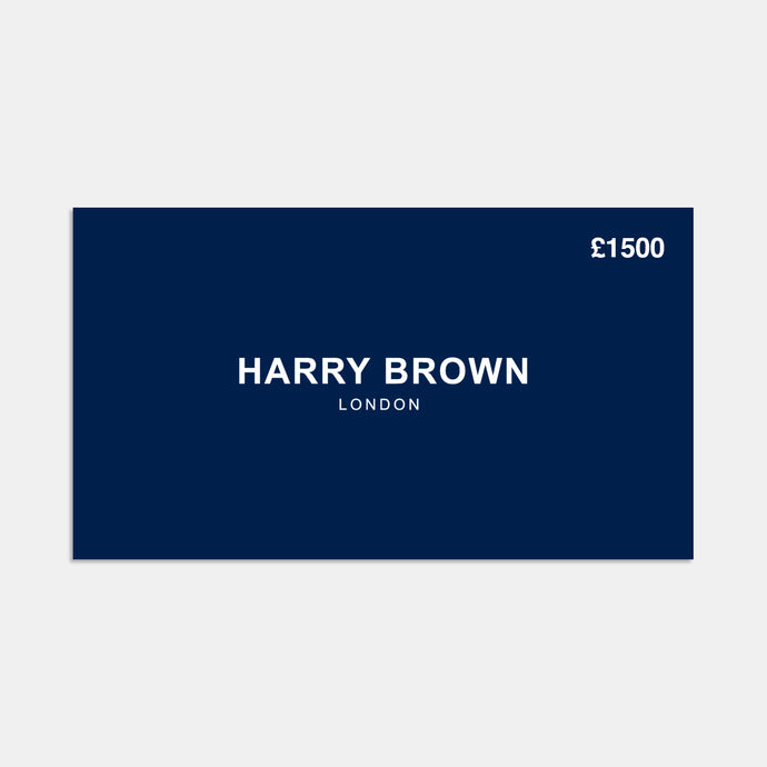 The Harry Brown £1500 Gift Card