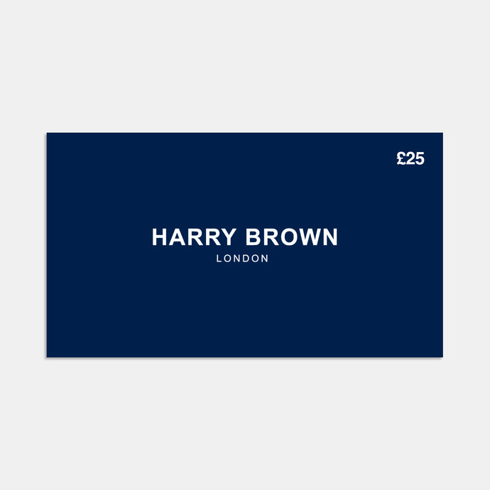 The Harry Brown £25 Gift Card