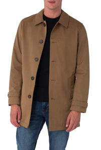 RONNIE Tobacco Lightweight Raincoat