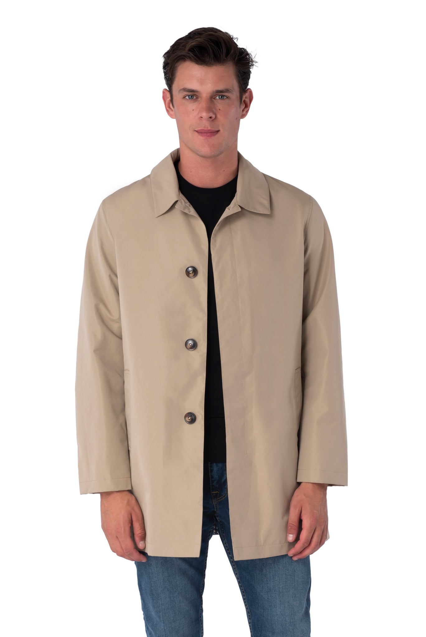 Front of Harrison Trench Coat