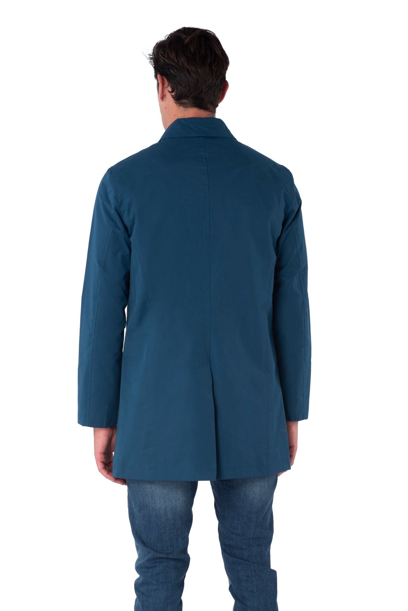Back of Harrison Trench Coat