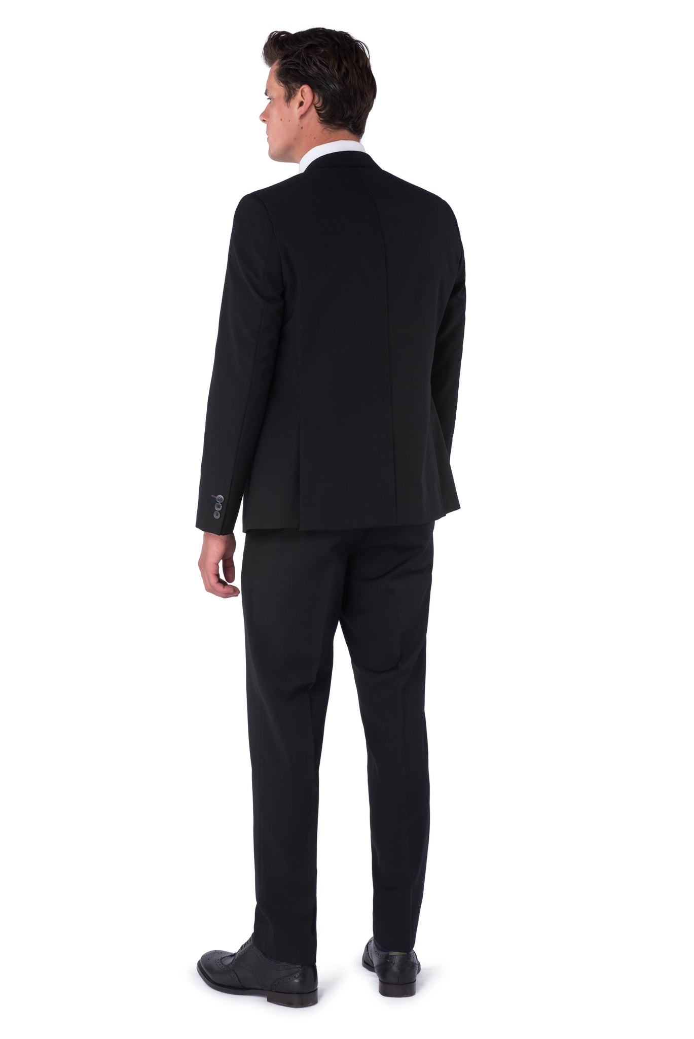 Back of Liam Black Suit