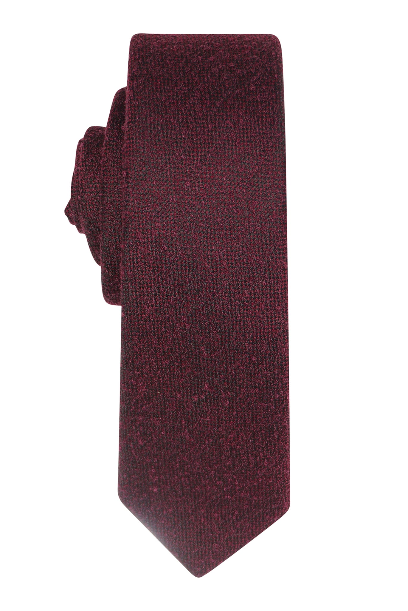 Wine Bobble Textured Tie