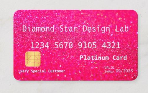 Diamond Star Design Lab Business Cards