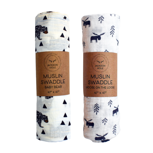 Wildlife Swaddle Set