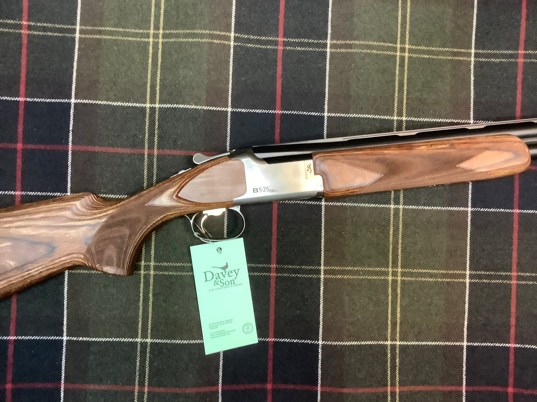 BROWNING 525 GAME - LAMINATED 12 GAUGE SHOTGUN