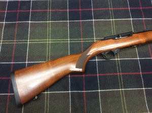 Pre-owned Ruger 10-22 De-luxe .22 Semi-Automatic Rifle.