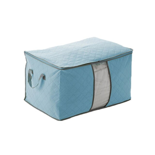 Anti-bacterial Foldable Clothes Quilt Storage Bags Quilt Clothes Wardrobe Closet Storage Boxes Blanket Socks Quilt Bag Organizer