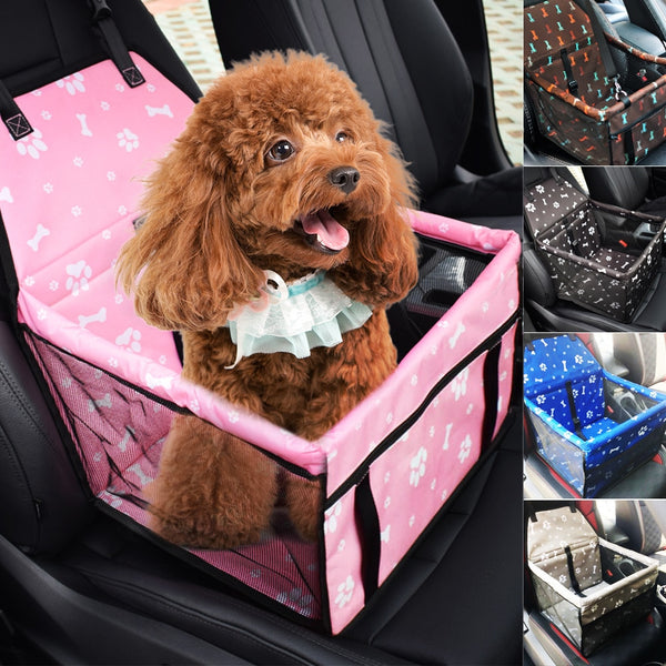 Hoomall 1PCs Safe Carry Pet Cat Dog Carrier Car Seat Beds Sofa Kitten Puppy Bag Car Portable Waterproof Seat Basket