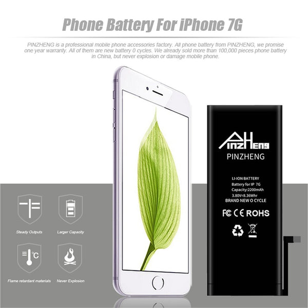 High Capacity Phone Battery Replacement Battery For iPhone