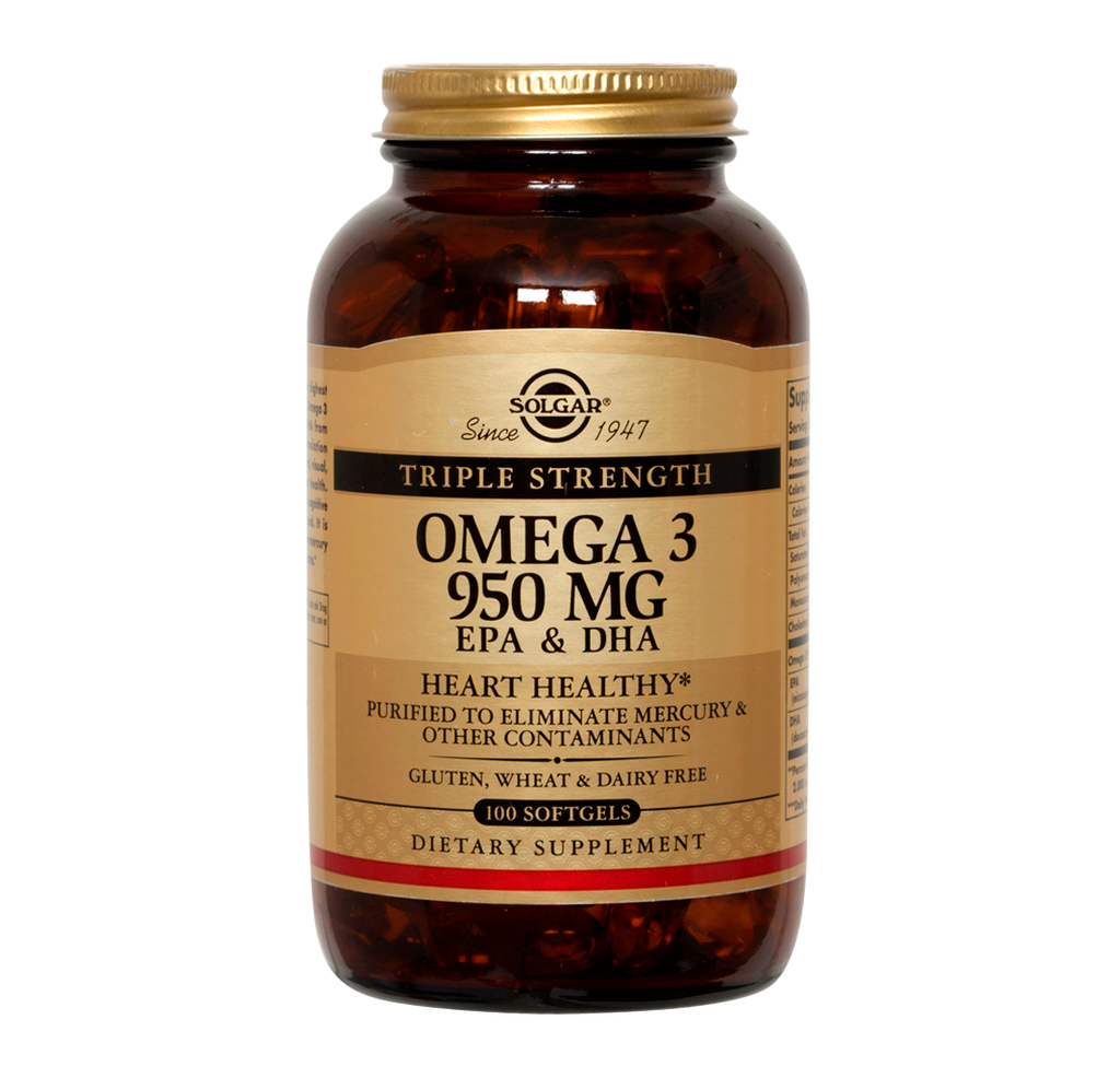 TRIPLE STRENGTH OMEGA-3 950 MG 100 SOFT