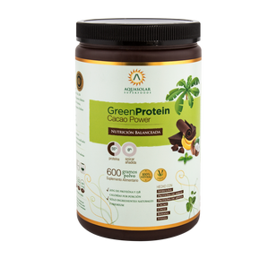 GREEN PROTEIN CACAO 100% NAT VEG - 600G