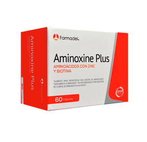AMINOXINE PLUS 60 CAPS. FARMADEL