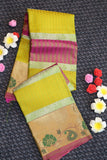 Multi colour pure soft silk saree with beautiful colours
