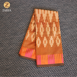 Supernet saree with weaving design