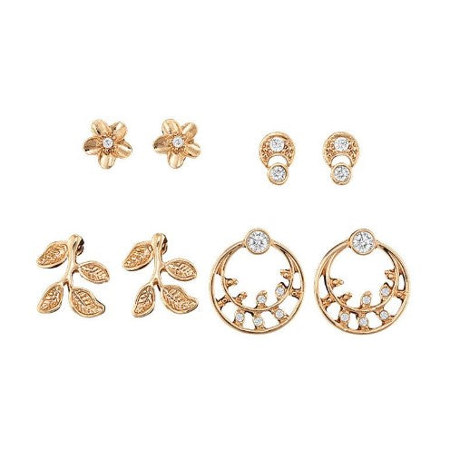 FLORAL ACCENTS EARRINGS PACK
