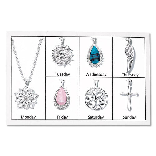 DAILY CHARM PENDANT NECKLACE SET