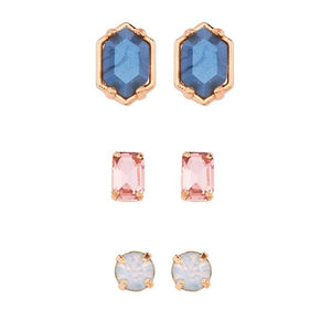 STUD EARRING TRIO PACK