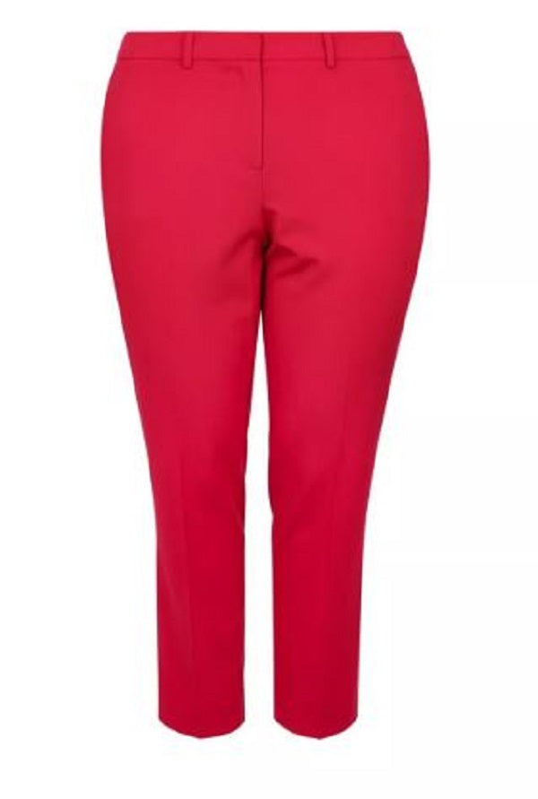PLUS SIZE TAILORED ANKLE PANTS