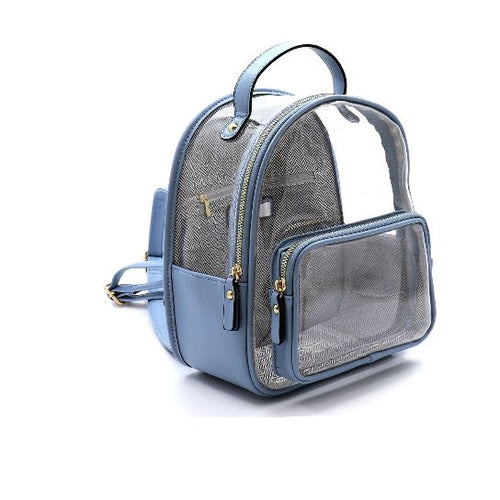 SEE THROUGH BACKPACK