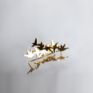 Flying Birds Earcuffs - Millié Jewelry