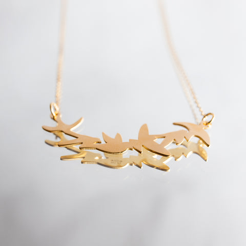 Flying Birds Necklace
