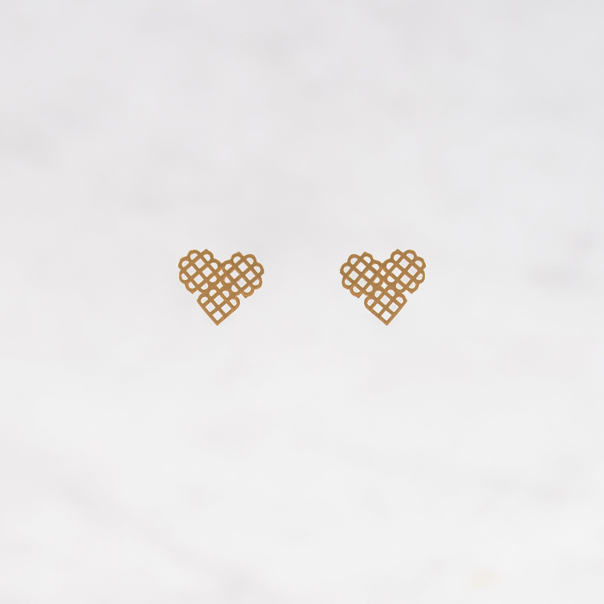 Millié Jewelry - Millié Jewelry - Millié Heart Mini Earrings - Aretes - Diseño Mexicano - Hecho en México