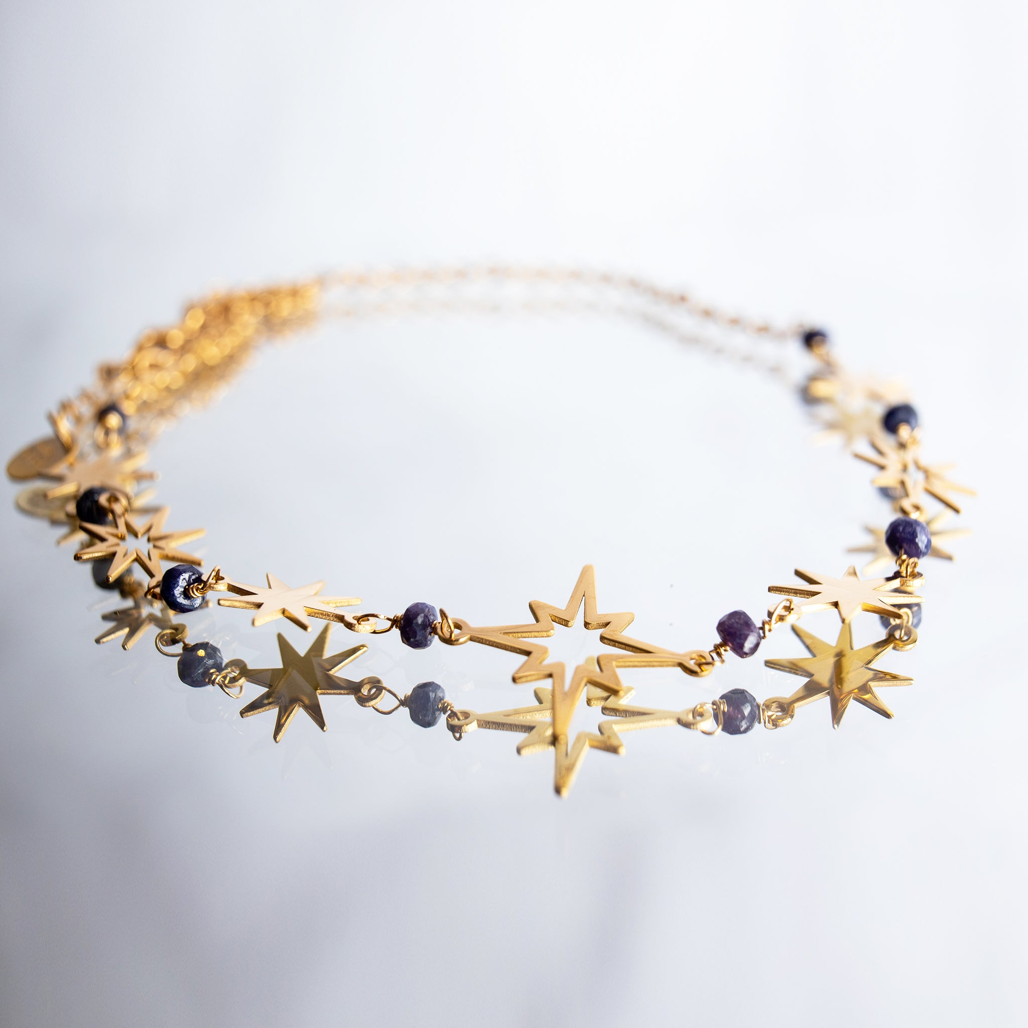 North Star Choker Necklace - Millié Jewelry