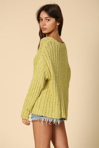 Lime Sweater