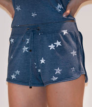 Load image into Gallery viewer, Navy Star Shorts