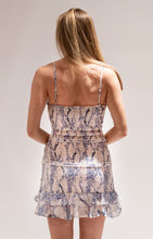Load image into Gallery viewer, Snakeskin Smocked Dress