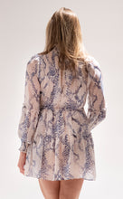 Load image into Gallery viewer, Snakeskin Mock Neck Dress