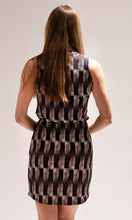 Load image into Gallery viewer, Brown Print Dress