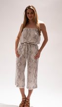Load image into Gallery viewer, Strapless Snake Skin Print Jumpsuit