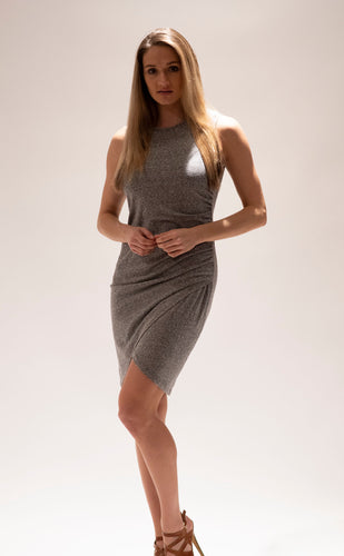Grey Muscle Tank Dress