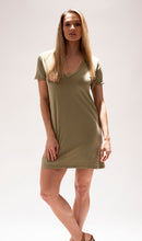Load image into Gallery viewer, Sage T-Shirt Dress