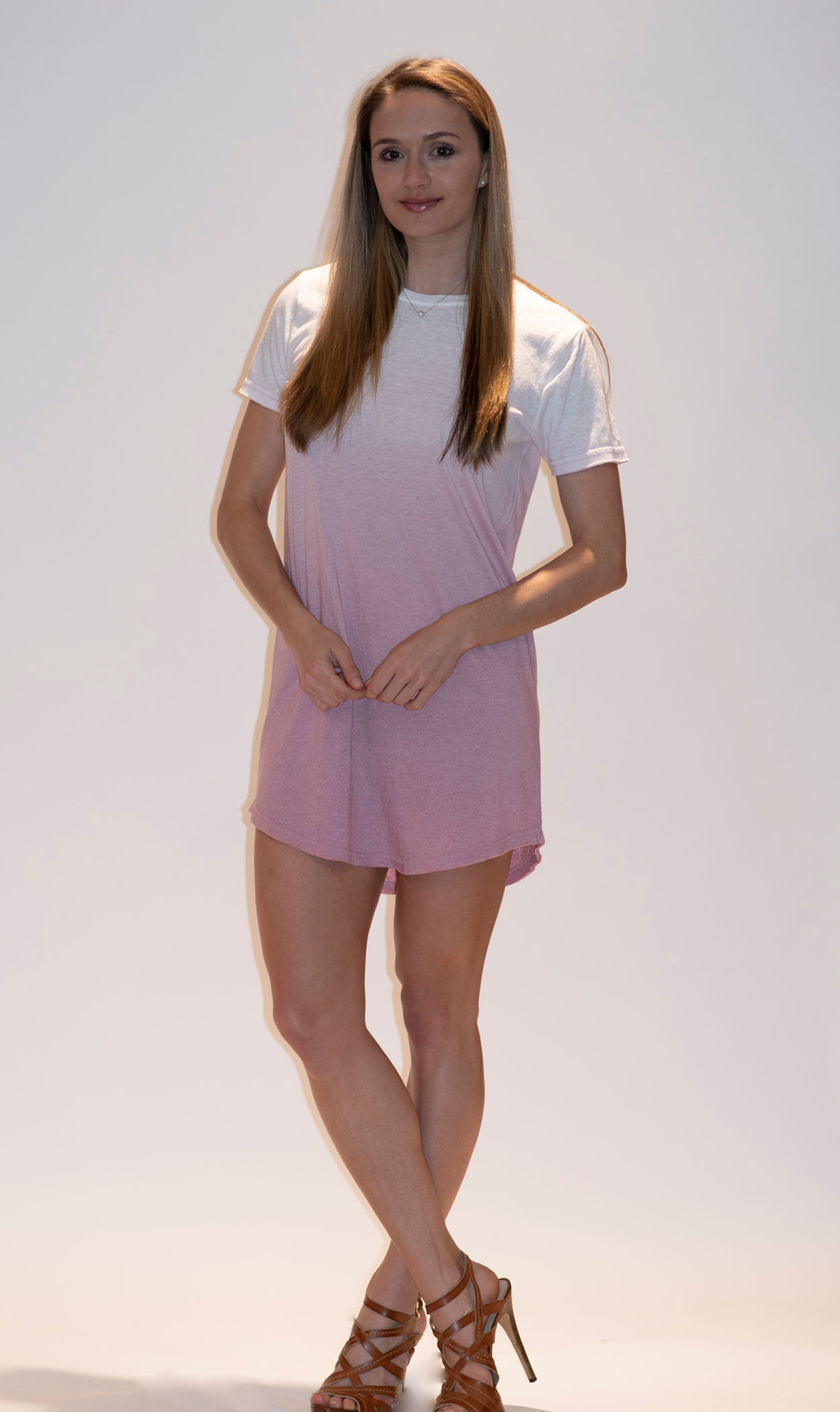 Ombre T-Shirt Dress