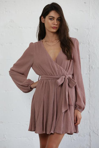 Mauve Swing Dress